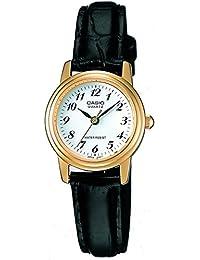 Casio Reloj de cuarzo para mujer con esfera de plata analógico–Pantalla Digital y Correa de mixto color blanco ltp1236pgl-7bef