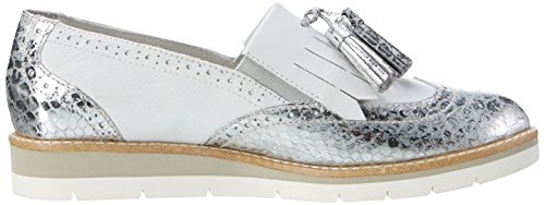 Tamaris Damen 24305 Slipper Weiß (WHITE COMB 197)