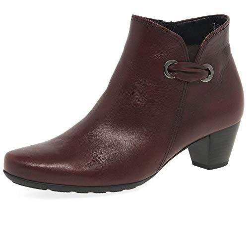 Gabor Keegan Womens Ankle Boots 6.5 UK/ 40 EU Dark Red -