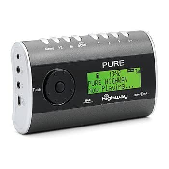 pure highway in car dab radio with fm transmitter amazon. Black Bedroom Furniture Sets. Home Design Ideas