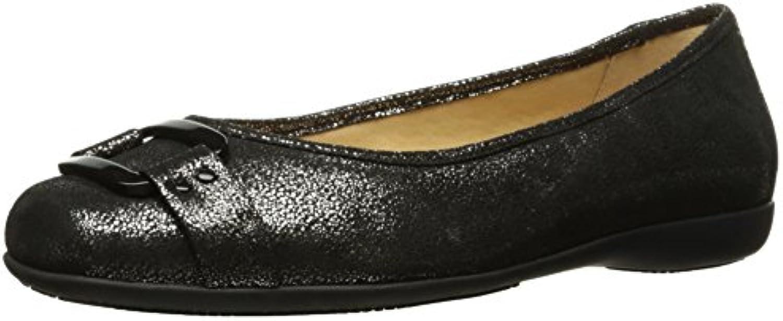 Trotters Sizzle Signature Mujer US 6 Azul Estrechos Zapatos Planos