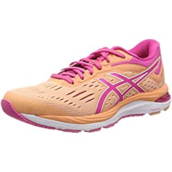 ASICS Gel-Cumulus 20, Chaussures de Running Femme, Orange (Mojave/Fuchsia Purple 800), 35.5 EU