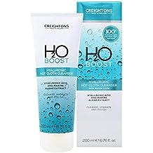 Creightons H2O Boost Hyaluronic - Limpiador de ropa caliente con gamuza de muselina, 200 ml