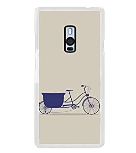 FUSON Cycle Texture Pattern Background Designer Back Case Cover for OnePlus 2 :: OnePlus Two :: One Plus 2