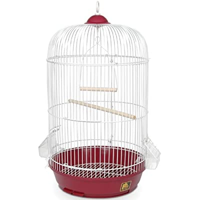 Prevue Hendryx SP31999R Classic Round Bird Cage, Red by Prevue Pet Products, Inc.