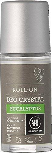 Natürliche Mineralsalze Genießen (Urtekram Eukalyptus-Deokristall Bio, Roll-On, 50 ml)