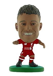 SoccerStarz SOC1191 Liverpool Alex Oxlade-Chamberlain Home Kit (2019 Version) (Nueva Escultura) /Figuras, Verde