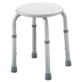 Adjustable Height Round Bath seat or Shower Stool ECSS04