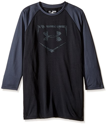 Under Armour Boys' Baseball ¾ Sleeve - Under Armour Graphic T-shirt Baseball