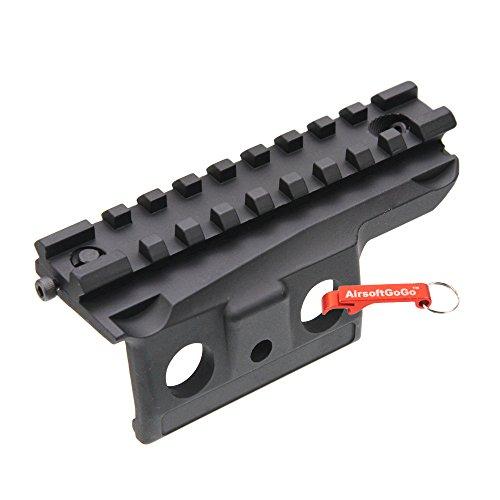 G&P Taktisch Zielfernrohr Montage Base M14 Serie Softair AEG - Schlüsselanhänger Inklusive