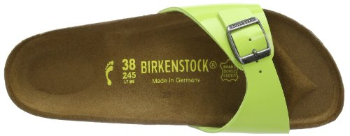 Birkenstock Classic MADRID   BF LACK 339493 Damen Clogs & Pantoletten Grün (GREEN GLOW)