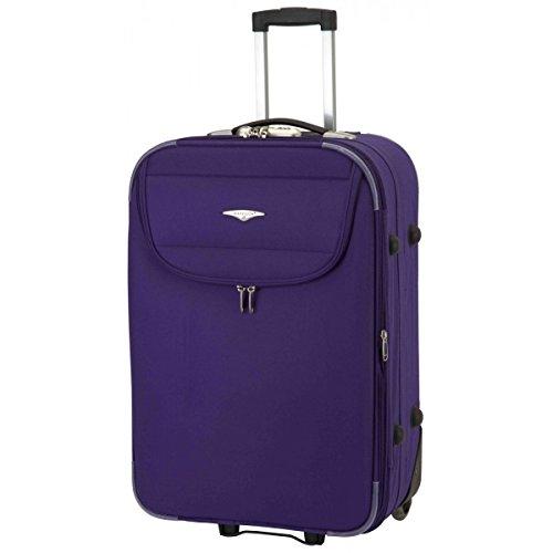 Set de 3 valises 2 roues moscow bleu