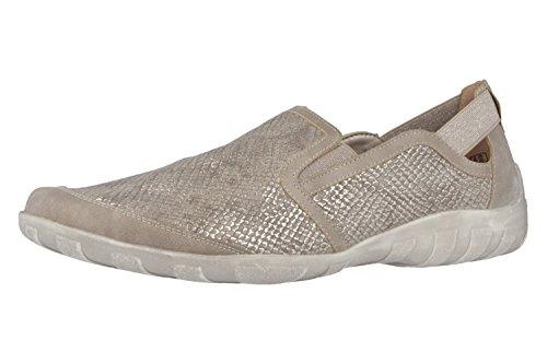 Remonte DorndorfR3426 - Pantofole Donna , Argento (argento), 44