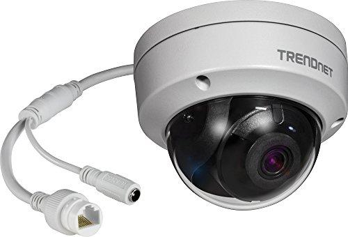 TRENDnet Indoor/Outdoor 5MP H.265 WDR PoE IR Dome Netzwerk Kamera, Nachtsicht bis zu 30 M (98 ft.), TV-IP317PI Ip-kamera-tv