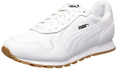 Puma Unisex-Erwachsene ST RUNNER FULL L Sneaker, Weiß (Puma White-Puma White 7), 43 EU (9 UK)
