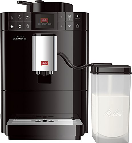 Melitta Caffeo Varianza CSP F570-102, Kaffeevollautomat mit Milchbehälter, One Touch Funktion,...