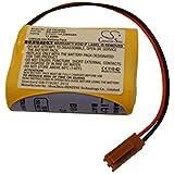 Batterie Li-Ion vhbw 2200mAh (6V) pour Ge Fanuc Beta iSV Amplifier, Beta SVU Amplifier . Remplace: BR-AGCF2W, BR-ACF2P, BR-AGCF2P.