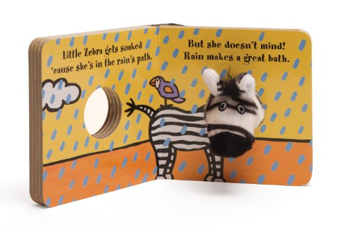 Little Zebra Finger Puppet Book: Board Book