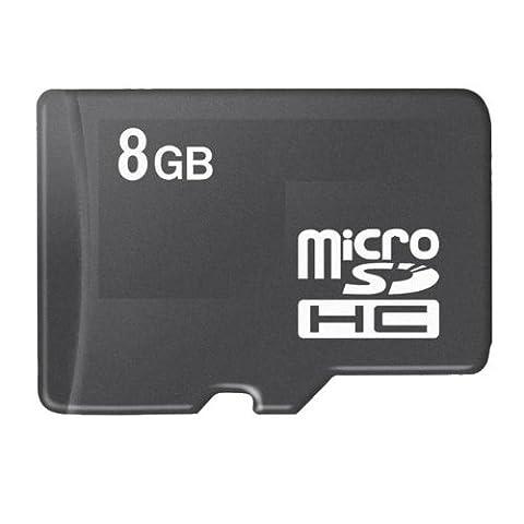 Acce2S - CARTE MEMOIRE 8 GO pour SONY ERICSSON X8 MICRO SDHC + ADAPTATEUR SD