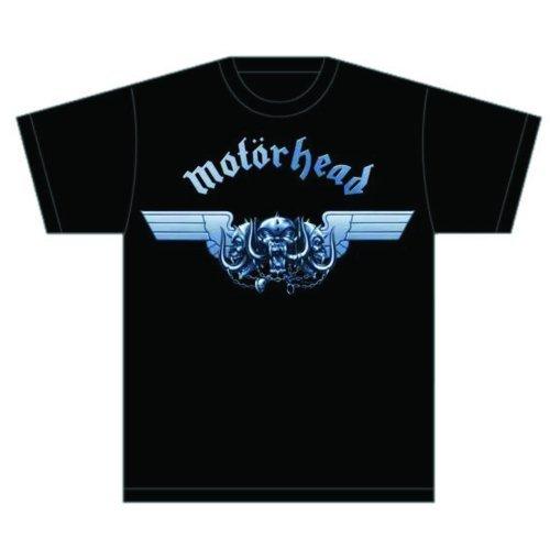 Motorhead Tri-Skull - Camiseta Hombre, Black, X-Large