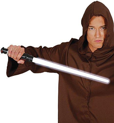 Spielzeug hell Schwert Fach futuristisch Kämpfer Krieger Soldaten Kostüm Kleid Outfit Waffe Zubehör Requisit (Futuristische Kostüme Outfit)