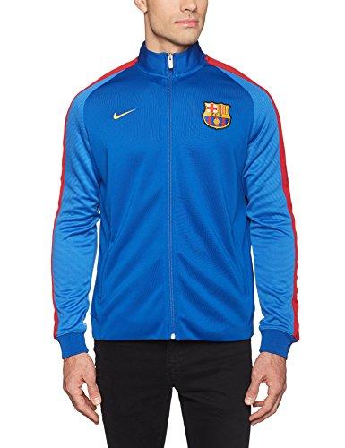 Nike FCB AUTH N98Jacke Linie FC Barcelona Herren XL Blau (Sport Royal / Lyon Blue / University Gold) (Blau Royal Nike Jacke)