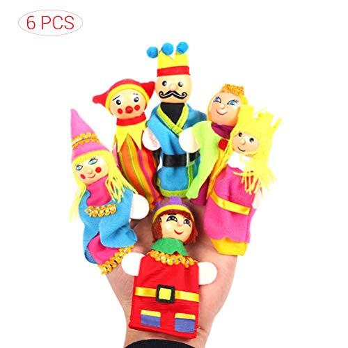 Schimer Toys Pure - Juego de muñecos de Dedo