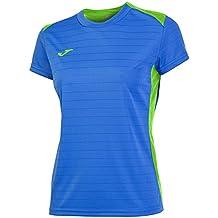 Joma Campus II - Camiseta de equipación de manga corta para mujer