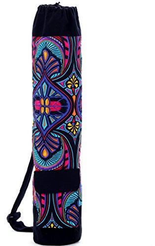 One Tribe Apparel Esterilla de yoga bolsa de carga superior w/bolsillo lateral/hecho...