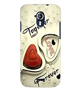 ColourCraft Love Design Back Case Cover for MICROMAX CANVAS MAGNUS A117