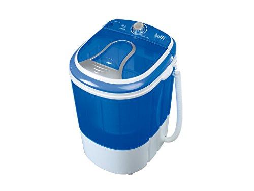 Botti Mini Waschmaschine Campingwaschmaschine 190 Watt, Volumen 3KG, 15 Min. Waschprogramm PM100