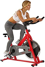 Sunny Health & Fitness Unisex Adult SF-B1001 Indoor Cycling Bike - Red, One
