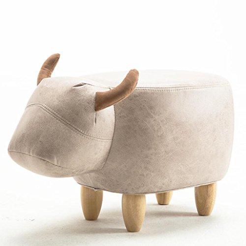 Baby-kalb Schuhe (Sofa Hocker Xuan - Worth Having Weiße kreative Kalb-Art, die einen Schuh-Schemel-Haus für Schuh-Hocker-Speicher-Hocker trägt Moderne Einfachheit (Design : Ordinary Section))