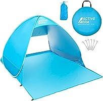 Active Era® pop-up-strandtent - UPF 50+-bescherming tegen uv-stralen van de zon - inclusief draagtas en haringen