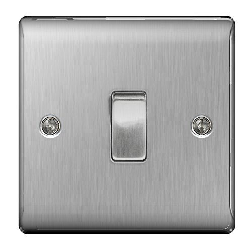 masterplug-nbs12-10-a-1-gang-2-way-metal-brushed-steel-light-switch