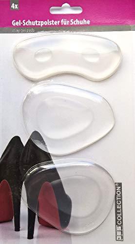HAPPY SOLES: Komfortable Gel-Schutzpolster für High Heels - 1 Paar - transparent (Einlagen Schuheinlagen Pumps Damenschuhe)