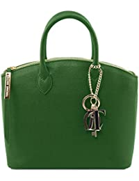 TL141730 TL Bag Borsa shopping in pelle Champagne