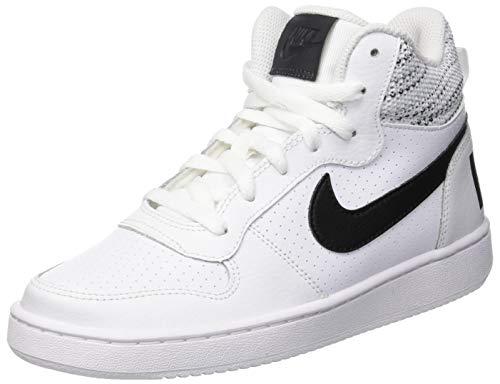 Nike Herren Court Borough Mid Se (gs) Sneakers, Mehrfarbig (White/Anthracite/Cool Wolf Grey 001), 40 EU