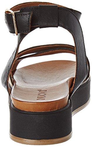 Inuovo - 7460, Laccetto alla caviglia Donna Nero