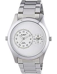 Just Watches Herren-Armbanduhr XL Analog Quarz Edelstahl 48-S10877-SL