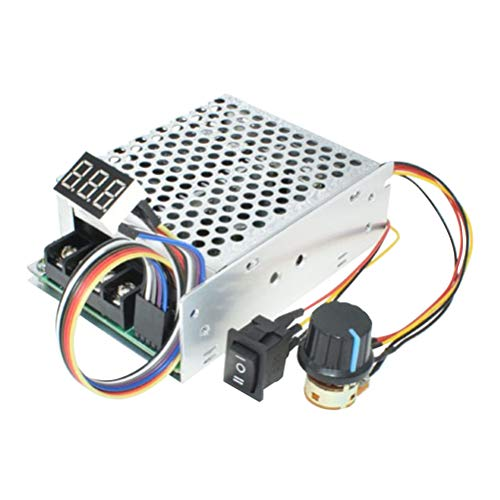 Yardwe PWM-Geschwindigkeitsregler-Board Motor Driver Controller Elektronische Hochleistungsvariable DC12V / 24V / 36V / 48V