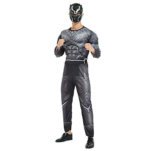 Avengers Kostüm Erwachsene Superhelden Kostüme Herren,Hulk,Captain America,Iron Man,Spiderman Kostüm,Halloween Cosplay Overall Kostüm,Blackpanther-OneSize (Prime Halloween-kostüm Erwachsene Für Optimus)