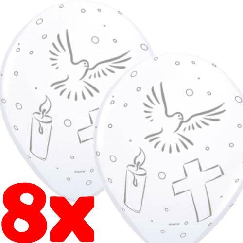 Folat - 8 Luftballons Kommunion