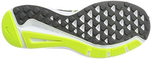 Nike Run Swift, Chaussures de Running Homme Gris (Cool Grey/Black-Vert Volt-White-Dark Grey)