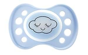 Dodie-Sucette Anatomique Caoutchouc Phosphorescente Nuit - Dodie 0-6 Mois - Bleu nuage N30