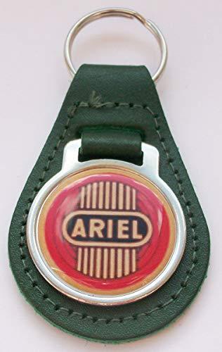 Unbekannt Ariel Schlüsselanhänger Leder Acryl Grün - Ariel Leder