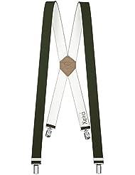 Xeira - Bretelles de haute qualité avec 4 Clips fort de 35mm - Made in Germany