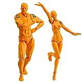 Modèle de Figure Action, Starall Homme Mannequin Homme + Femme Action Figure Set avec Accessoires Kit pour...