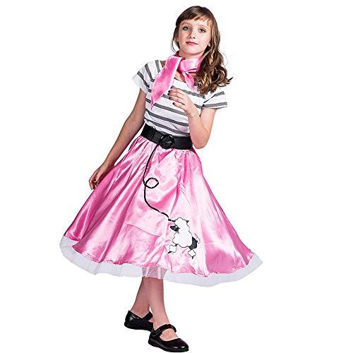 Kostüm Mädchen Diablo - YXRL Prinzessin Kleid Cosplay Kostüm - Mädchen Anzieh Outfit Geeignet Für Kostüm Halloween Karneval Bühnenkleid Height 150cm-L