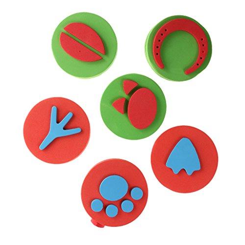 generic-6x-bambini-modello-francobolli-eva-spugna-stamper-pittura-muffa-vernice-pennello-giocattoli-